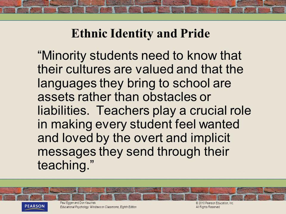 Ethnic Identity and Pride