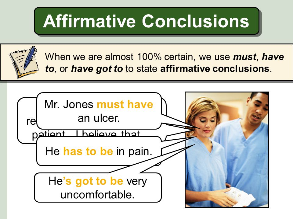 Affirmative Conclusions
