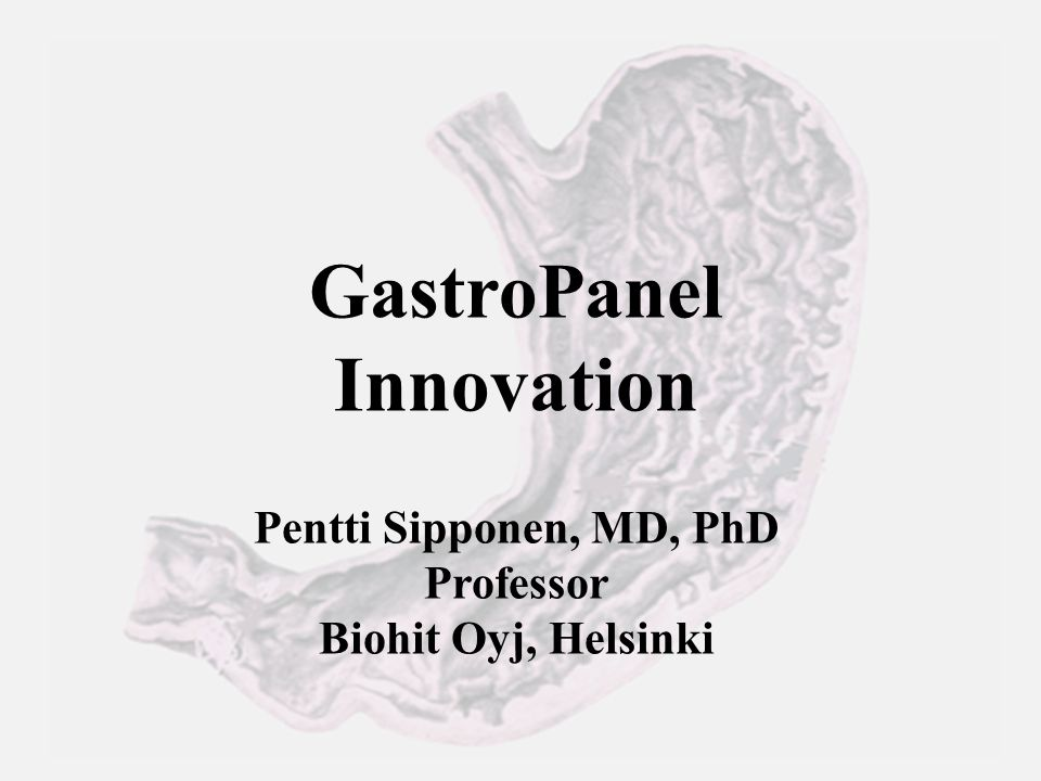 GastroPanel Innovation