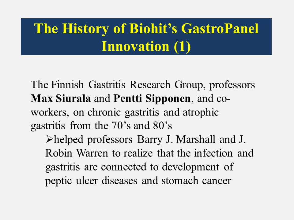The History of Biohit's GastroPanel Innovation (1)