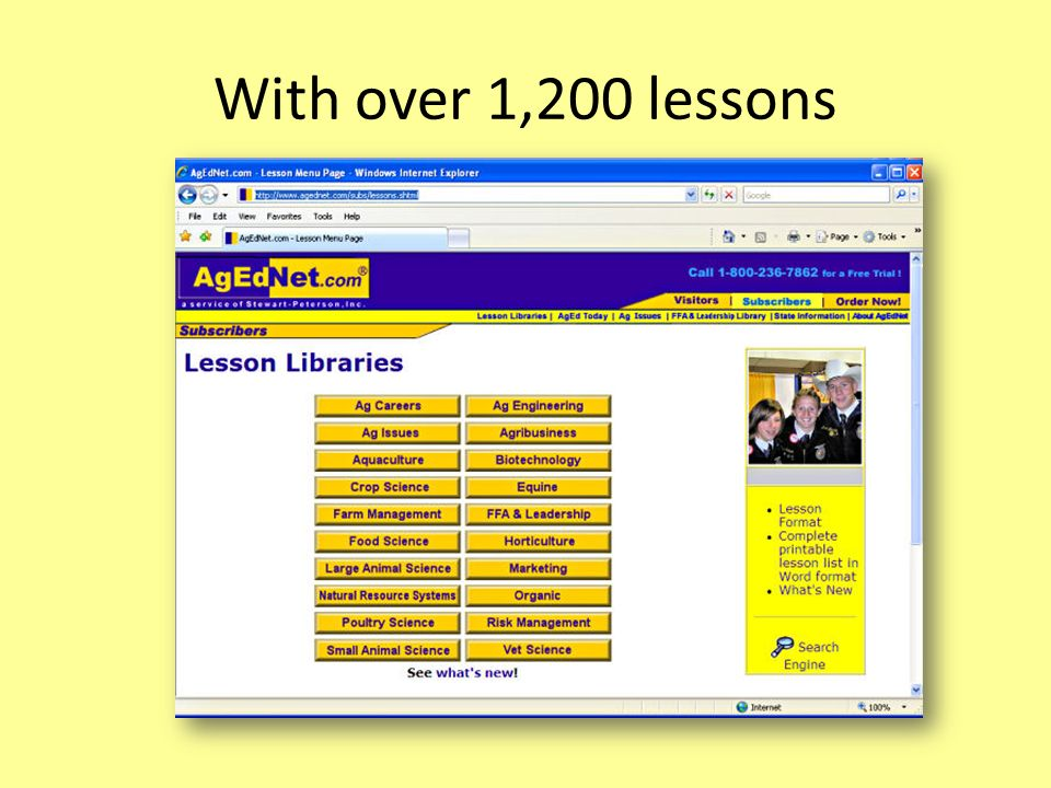 With over 1,200 lessons