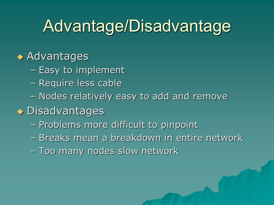 Advantage/Disadvantage