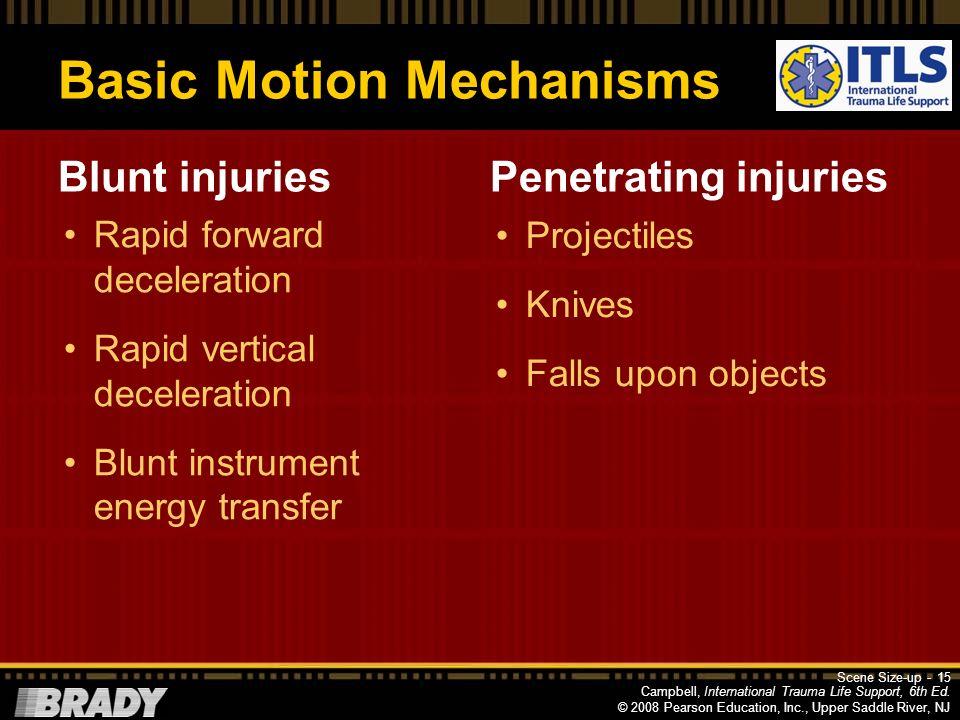 Basic Motion Mechanisms