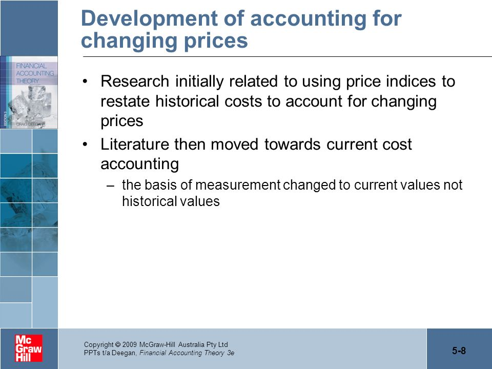 Development of accounting for changing prices