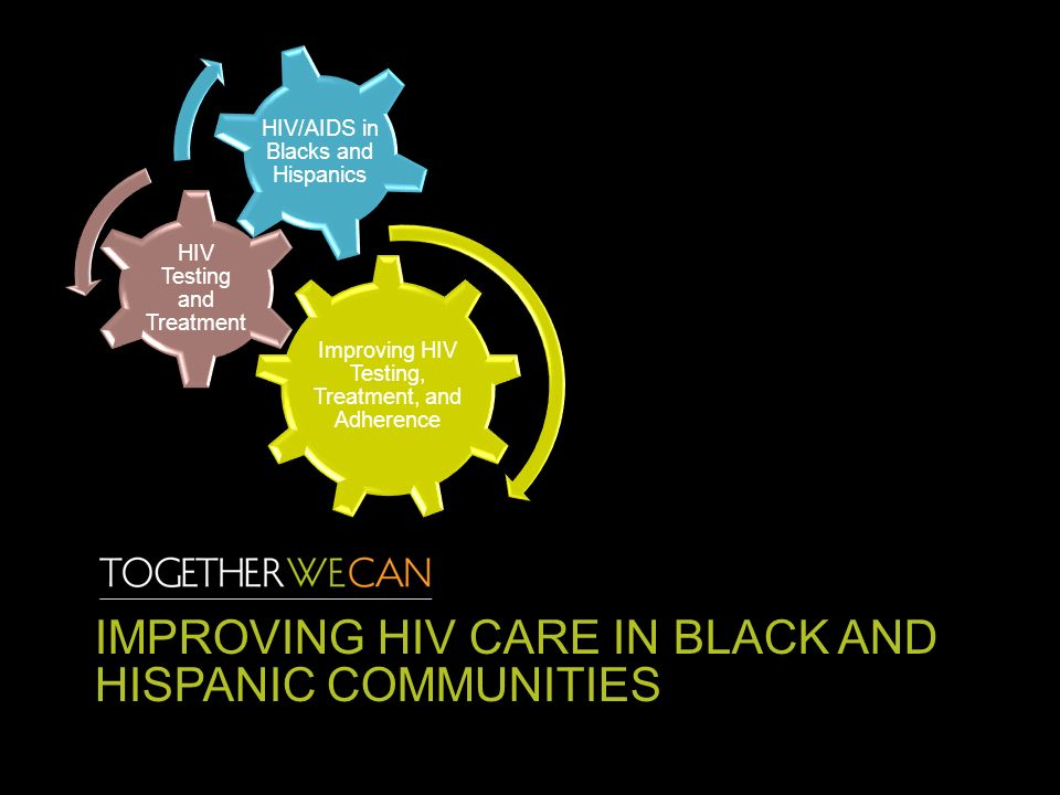 IMPROVING HIV CARE IN BLACK AND HISPANIC COMMUNITIES