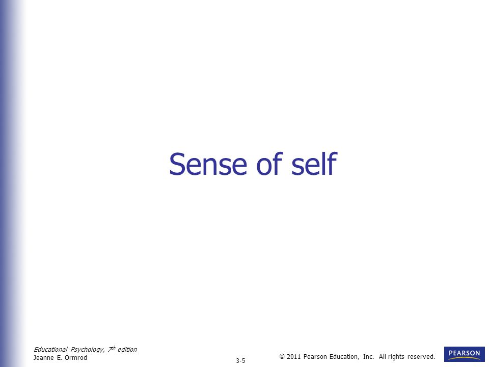 how to develop a strong sense of self