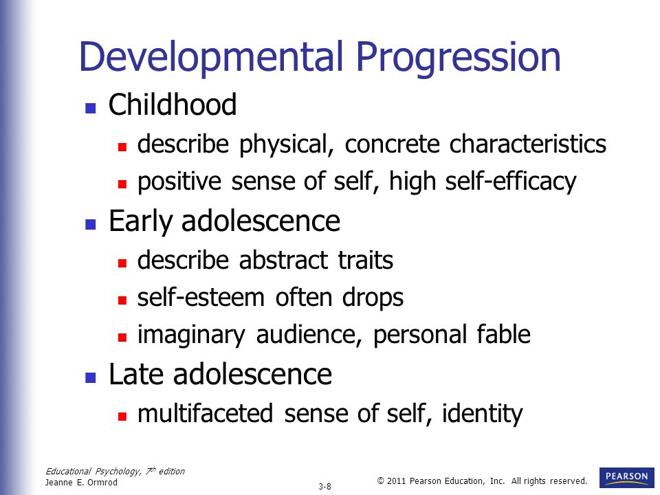 Developmental Progression