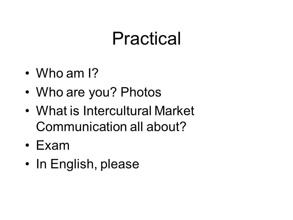 Practical Who am I Who are you Photos