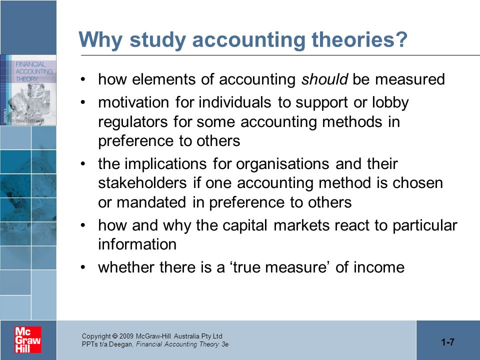 accounting theories This is the official website of the junior accounting theory conference the conference is open to all ad gathers theory-minded.