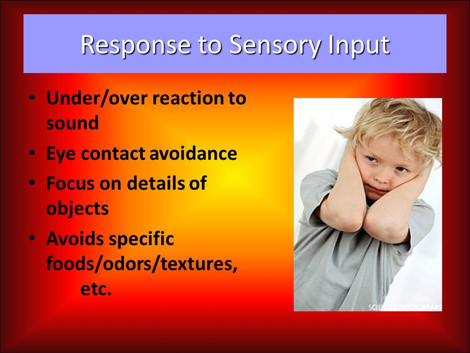 Response to Sensory Input