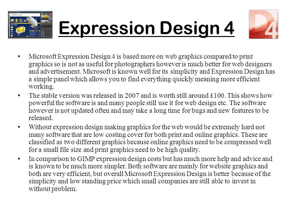 Expression Design 4