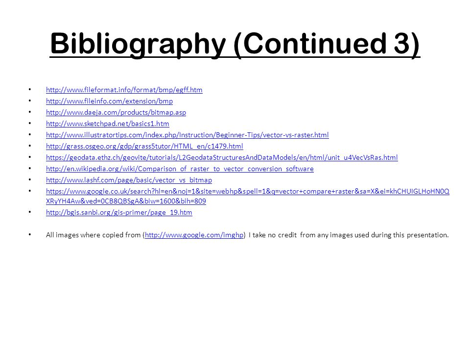 Bibliography (Continued 3)