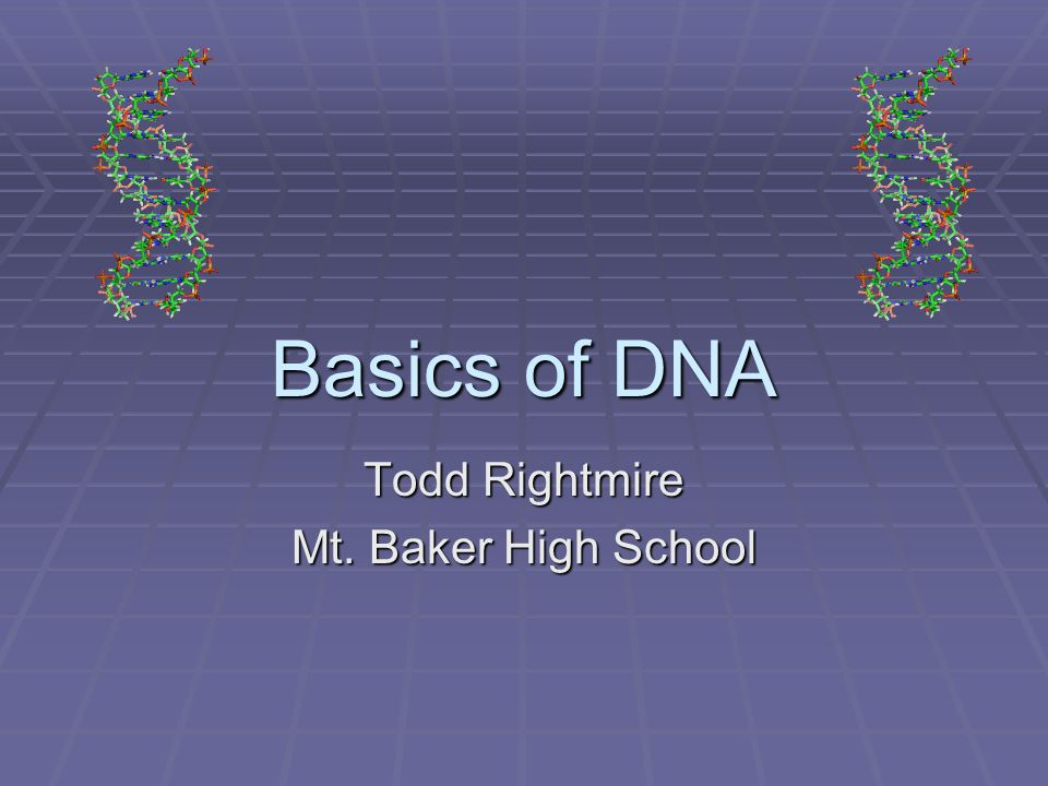 Todd Rightmire Mt. Baker High School