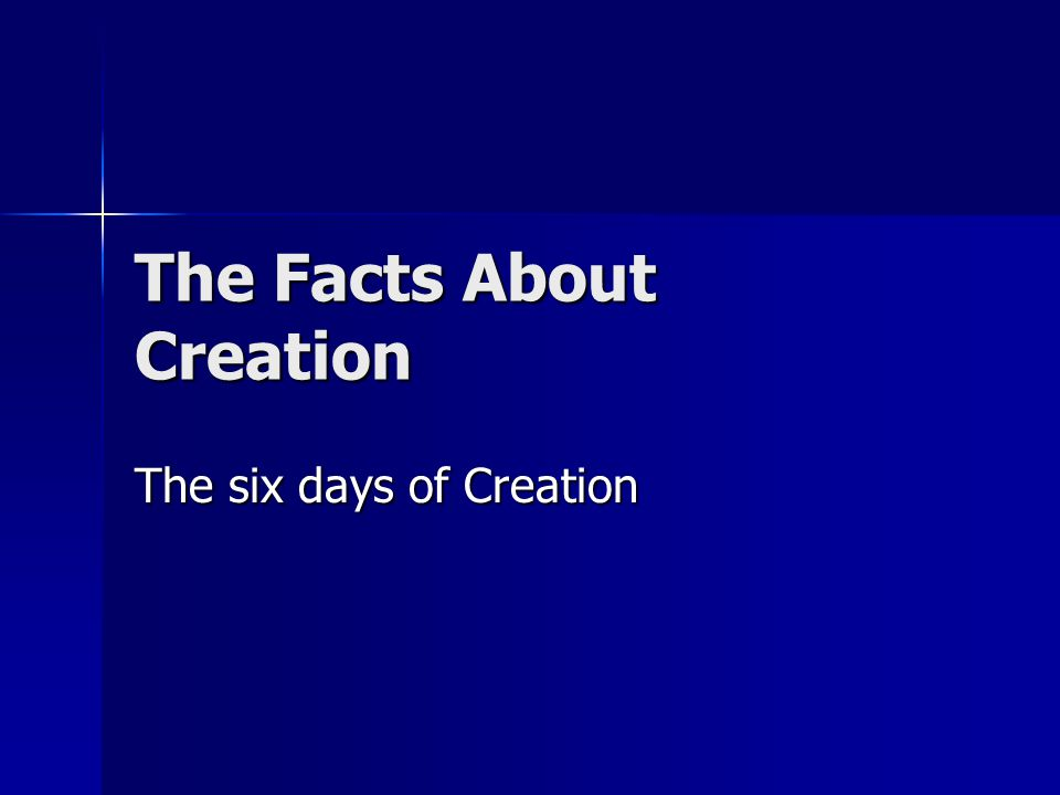 a discussion of the main ideas of creation evolution and scientific creation Read these 7 findings that support creationism over the theory of evolution relies on the idea that that the creation/evolution discussion is not.
