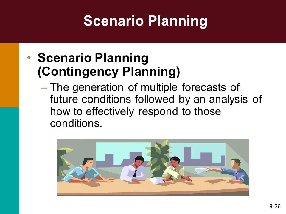 Scenario Planning Scenario Planning (Contingency Planning)