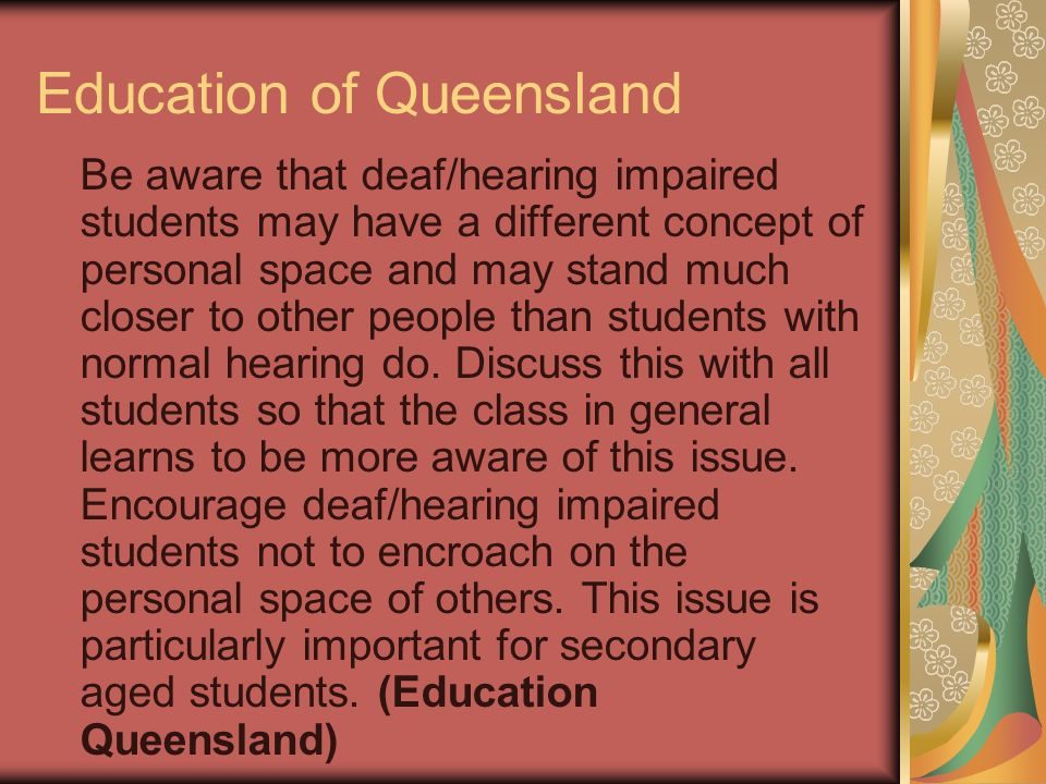 Education of Queensland