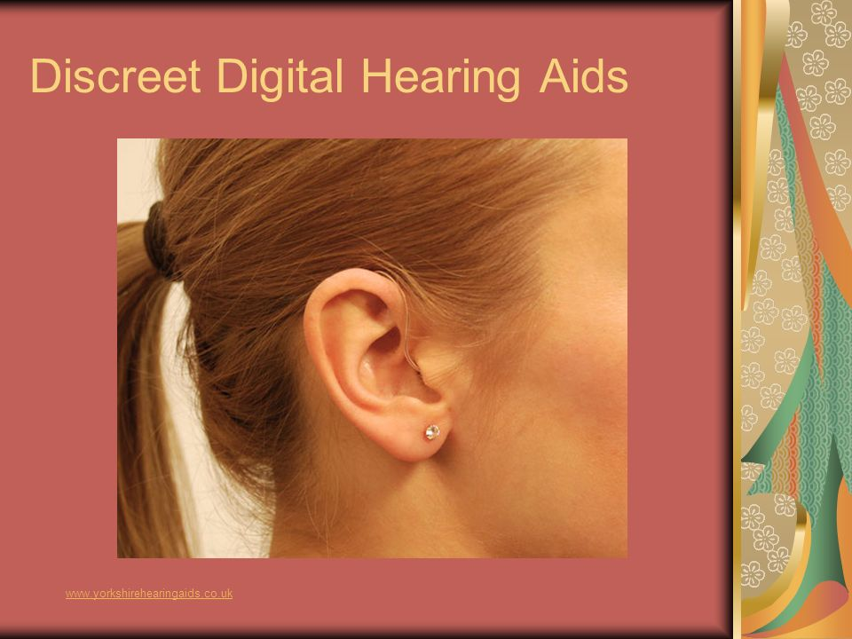 Discreet Digital Hearing Aids