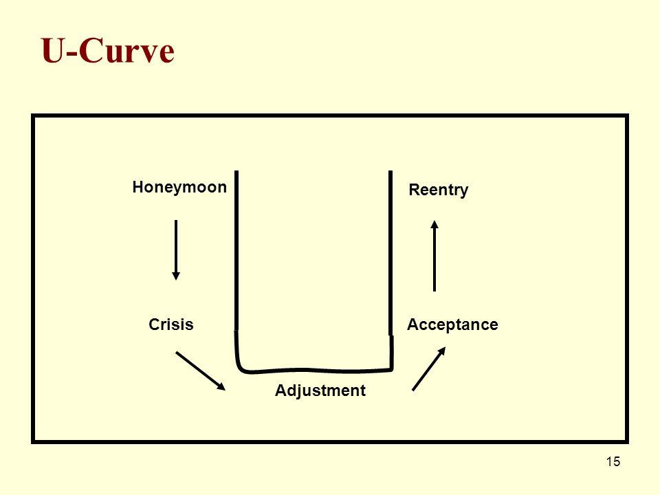 U-Curve Honeymoon Reentry Crisis Acceptance Adjustment