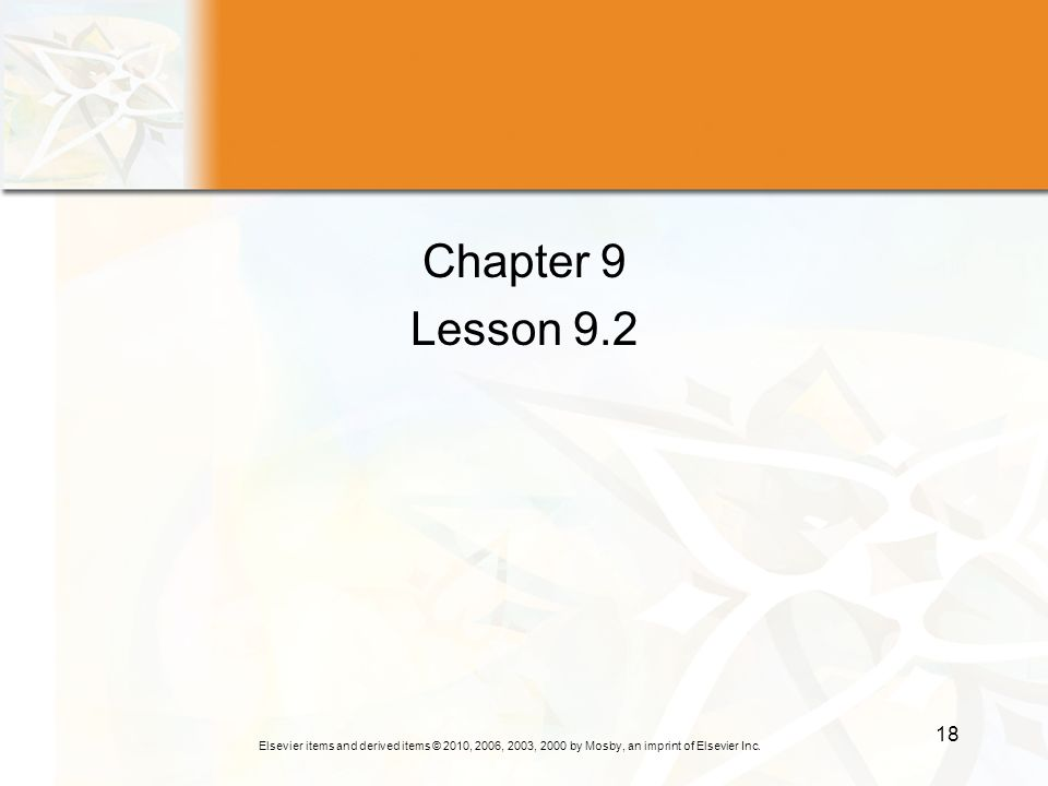 Chapter 9 Lesson 9.2