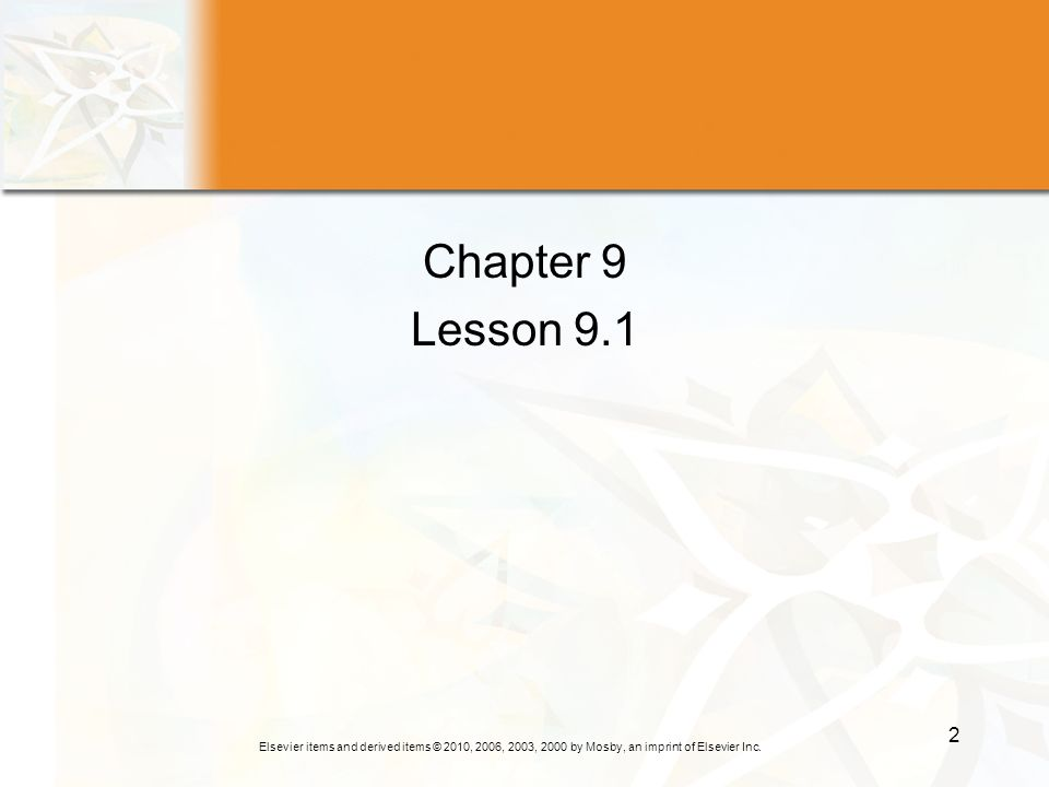 Chapter 9 Lesson 9.1
