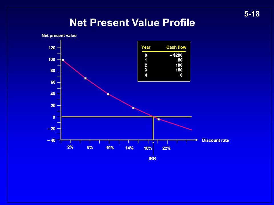 Net Present Value Profile