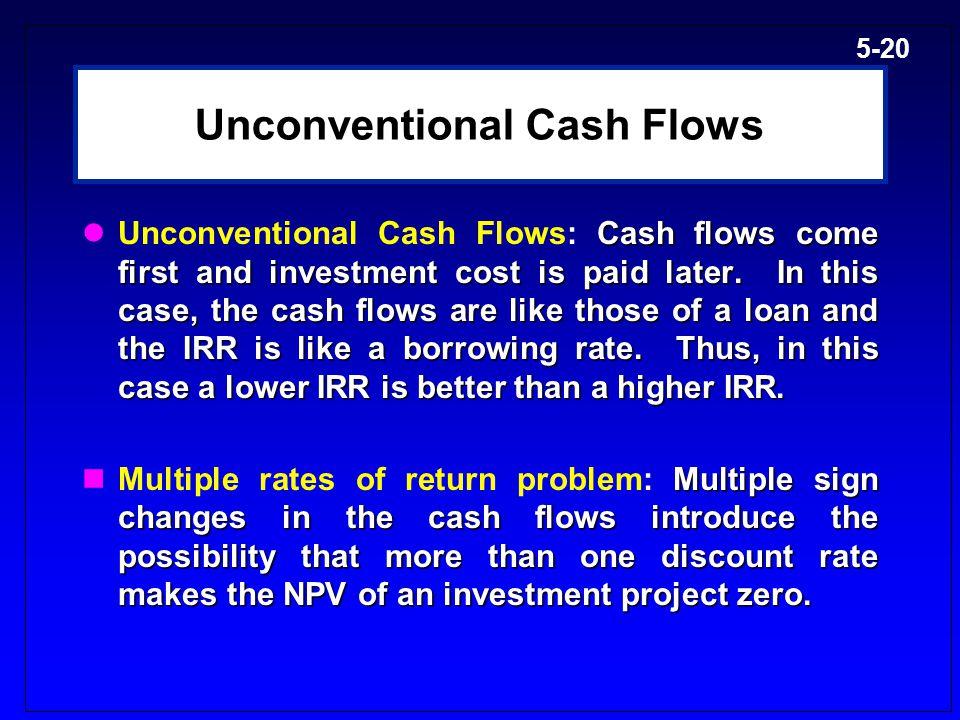 Unconventional Cash Flows