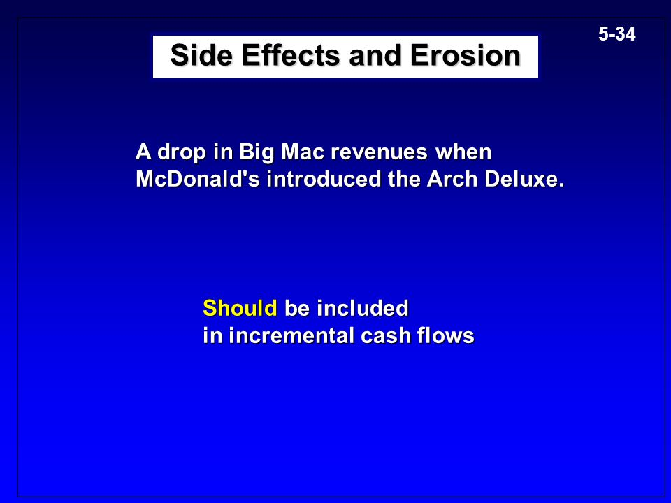 Side Effects and Erosion
