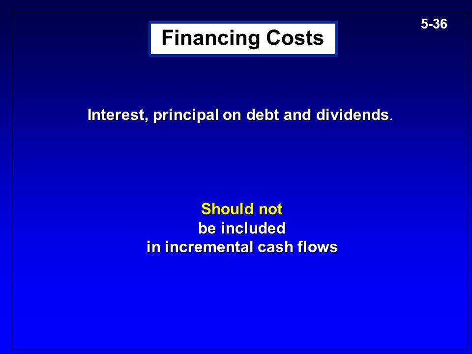 in incremental cash flows