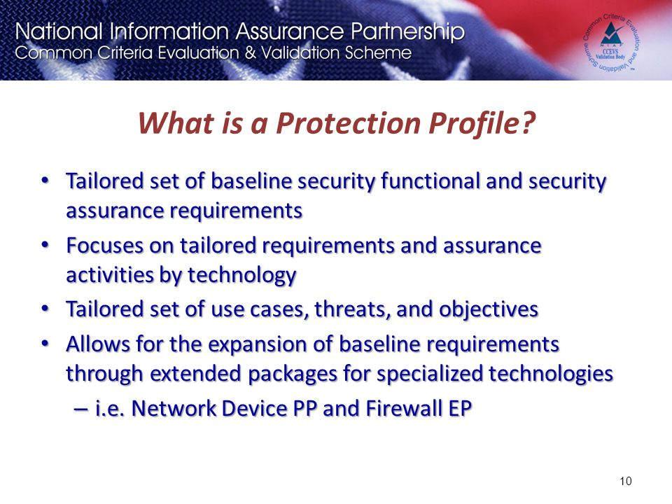 What is a Protection Profile