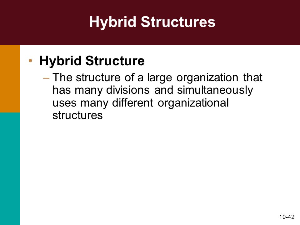 Hybrid Structures Hybrid Structure