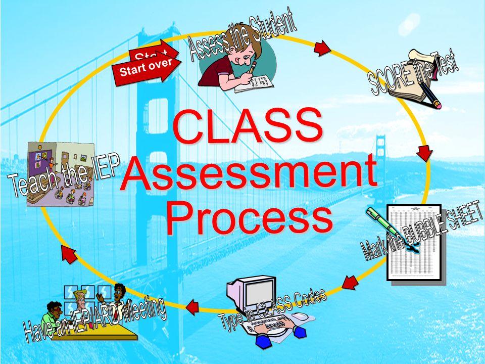 CLASS Assessment Process