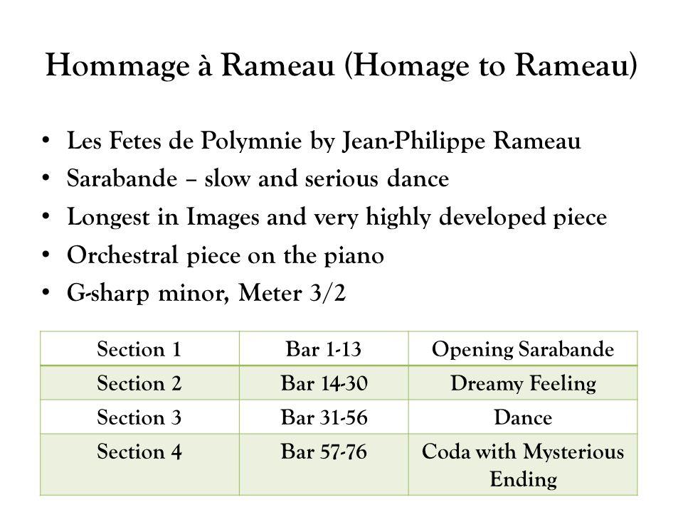 Hommage à Rameau (Homage to Rameau)