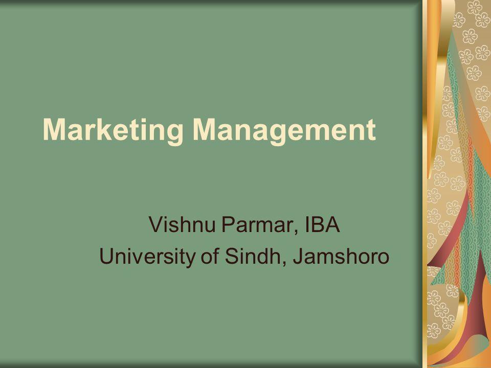 Vishnu Parmar, IBA University of Sindh, Jamshoro