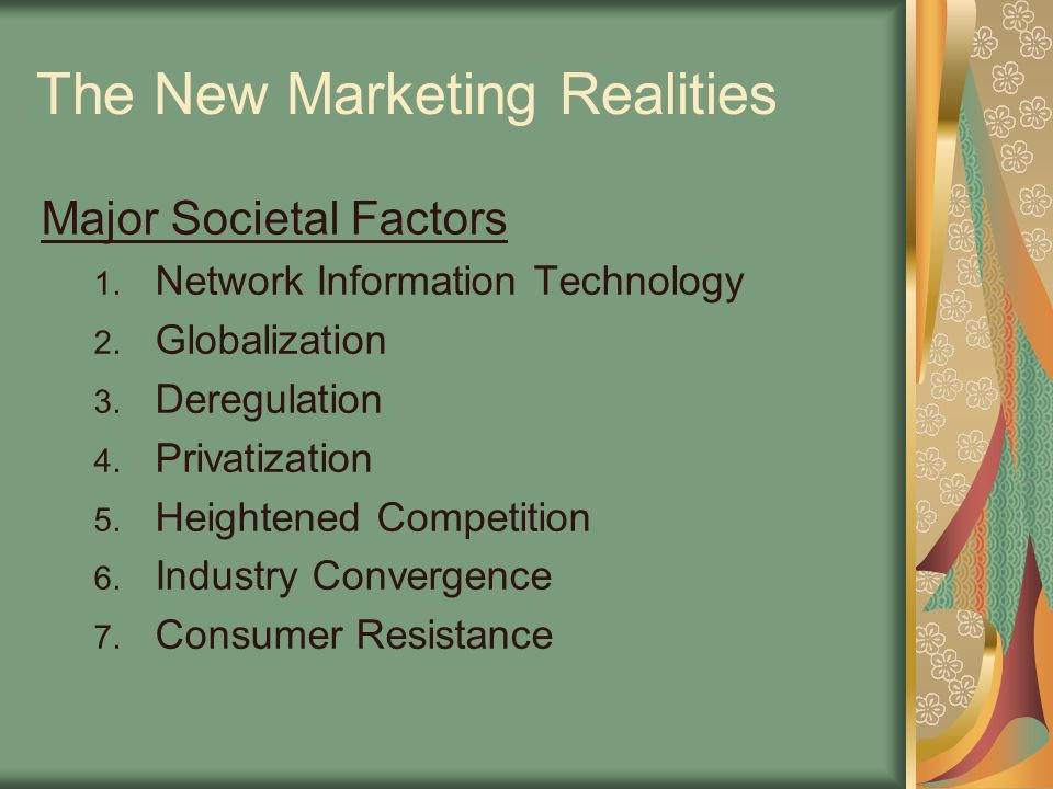 The New Marketing Realities