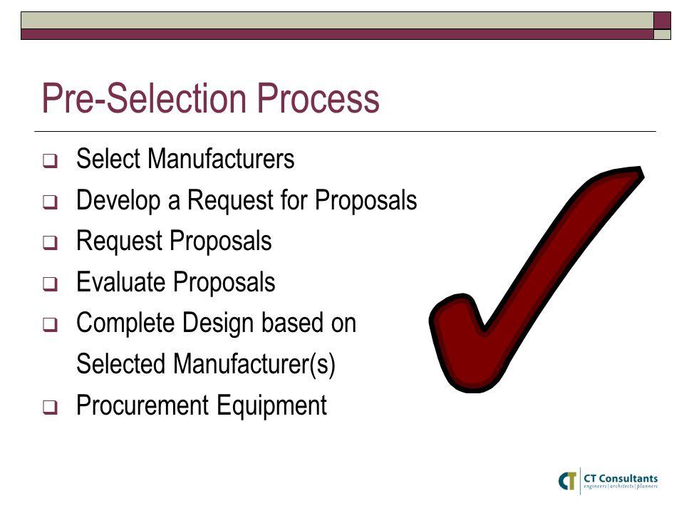 Pre-Selection Process