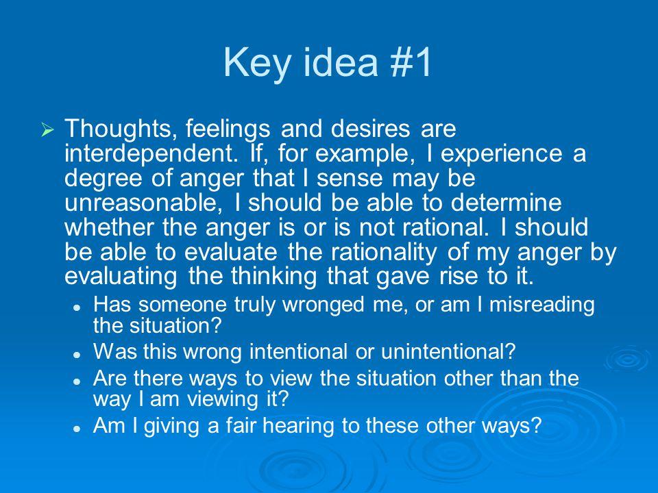 Key idea #1