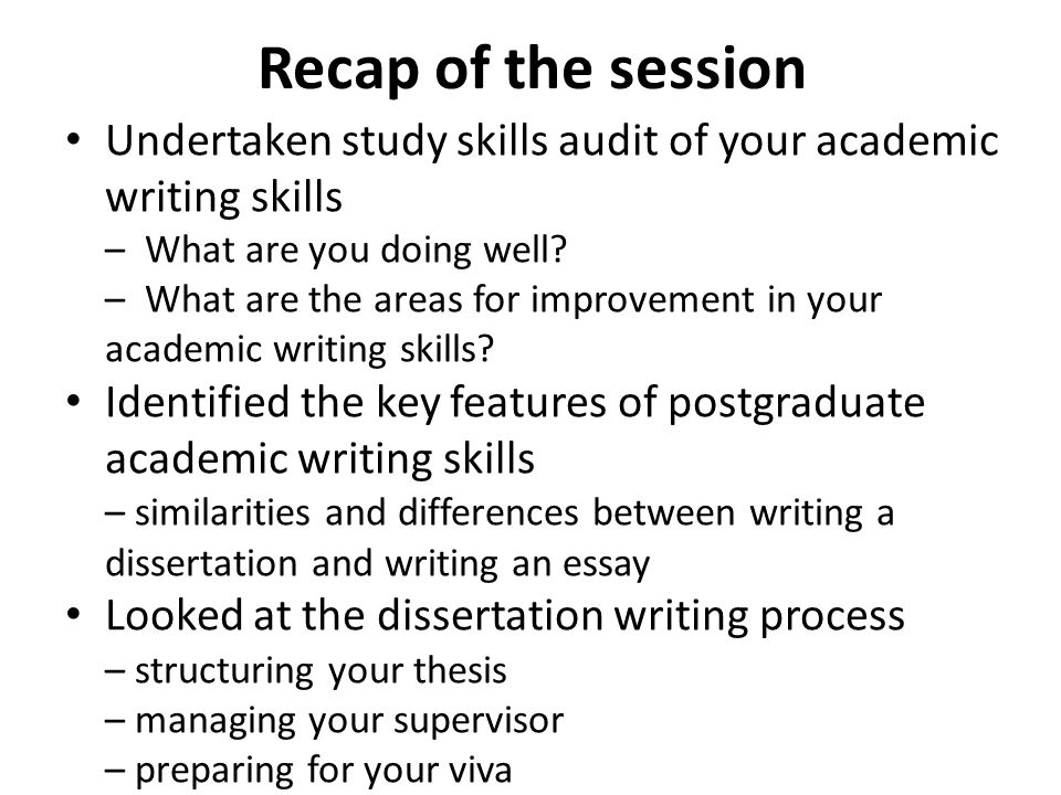 academic writing skills video