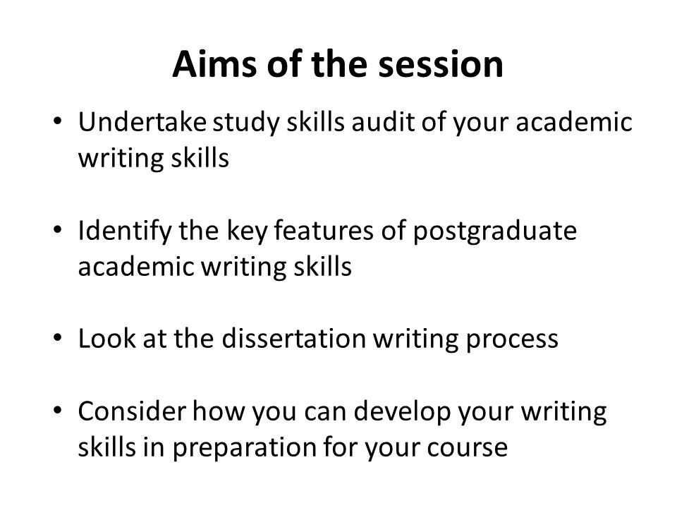 Academic Writing Course: Study Skills in English