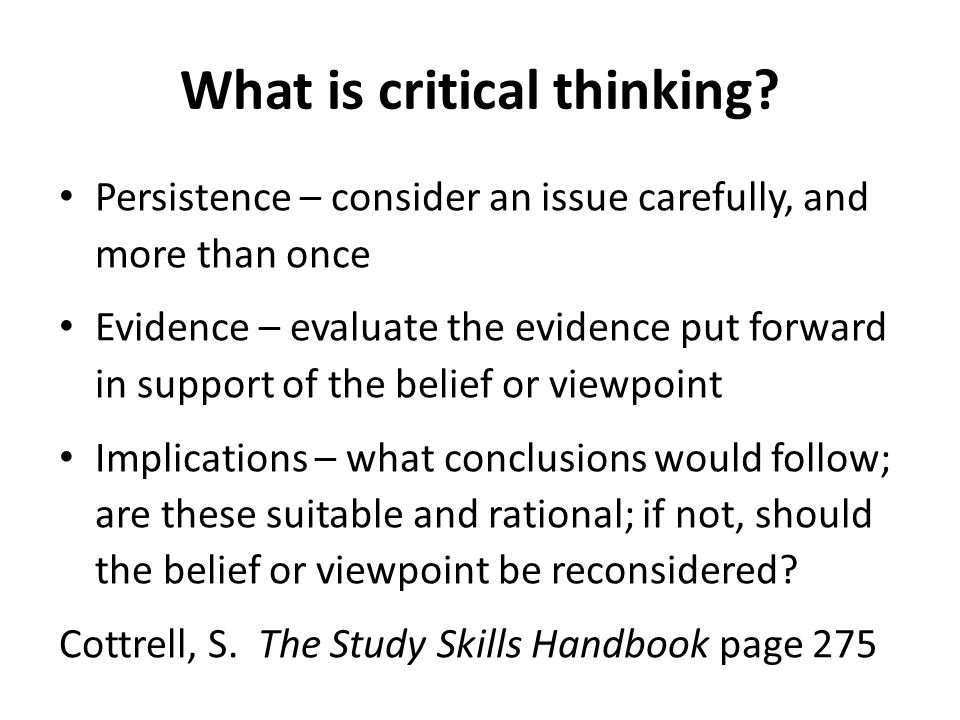 critical and analytical thinking skills ppt Thinking skills are comprised of  – checklist of what is needed to encourage successful thinking from thinking skills to thinking classrooms – article on.