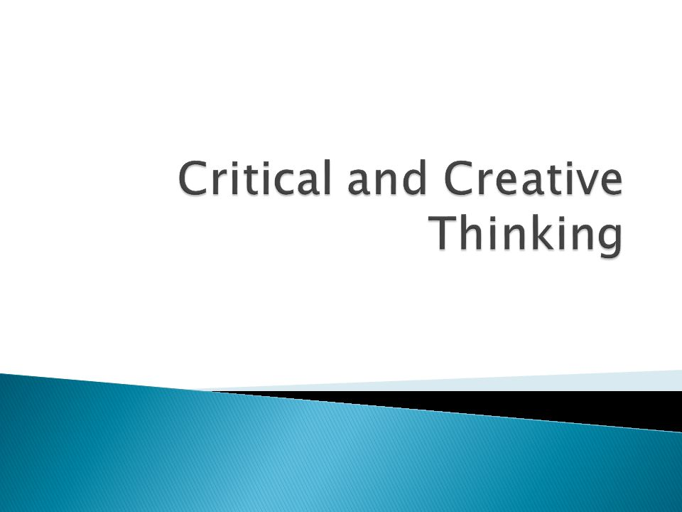 creative thought matters essay Creative thought matters is the environment skidmore fosters to provide a learning experience filled with inquiry, participation, and growth chase ta business and economics chase ta business and economics creative thought matters is more of a mentality that all skidmore students embrace, essentially that you can be whoever you want to be.