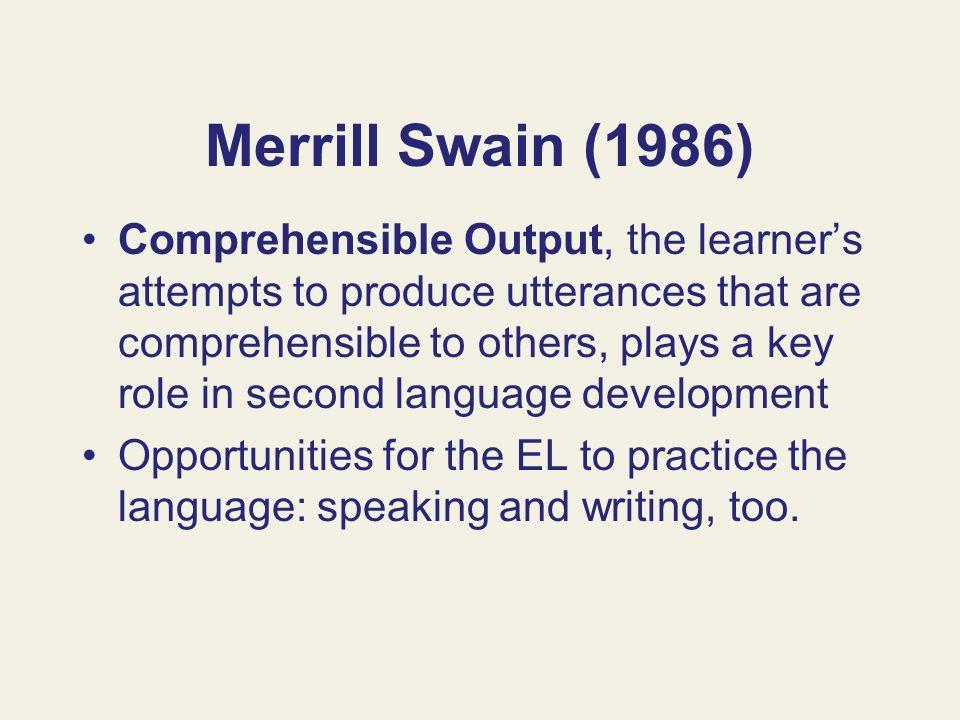 Merrill Swain (1986)