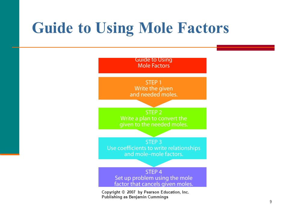 Guide to Using Mole Factors