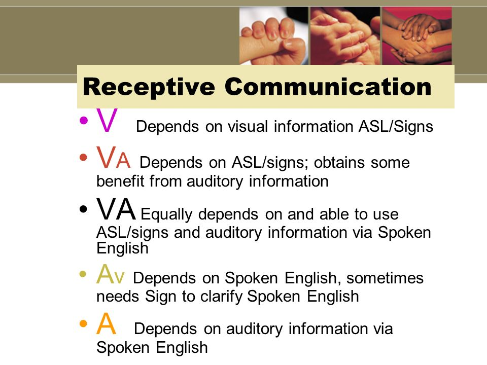 Receptive Communication