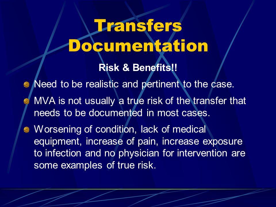 Transfers Documentation