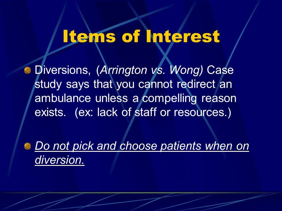 Items of Interest