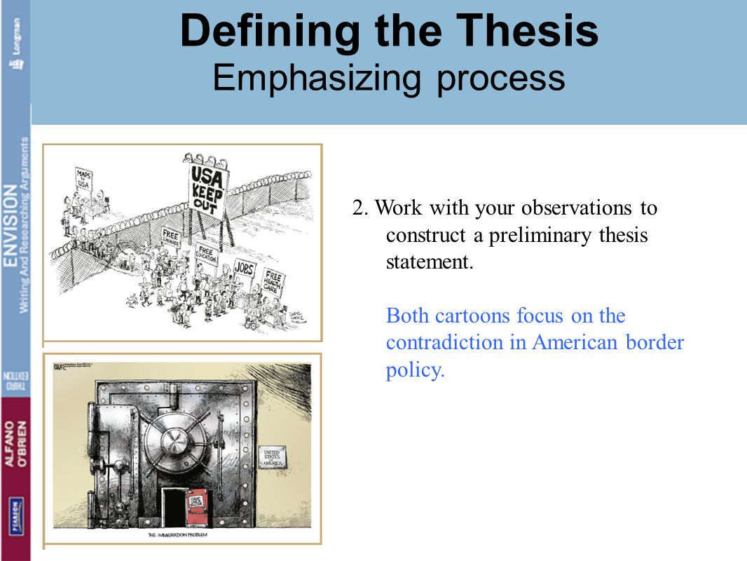 construct thesis statement research paper