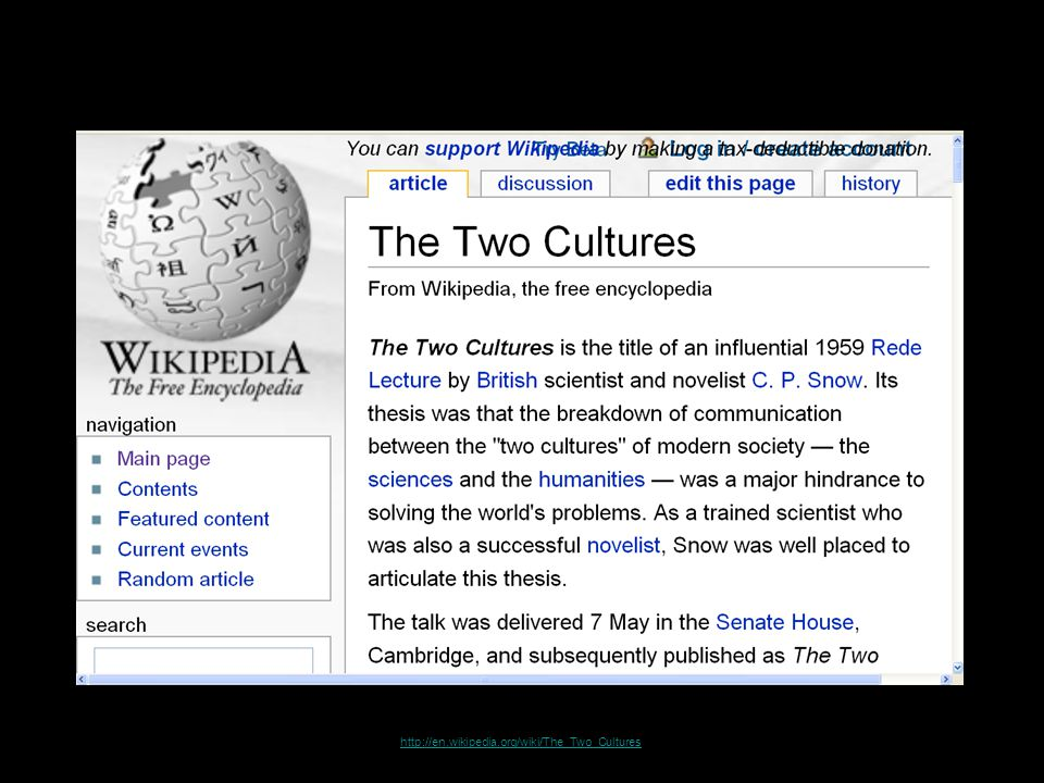 http://en.wikipedia.org/wiki/The_Two_Cultures 49