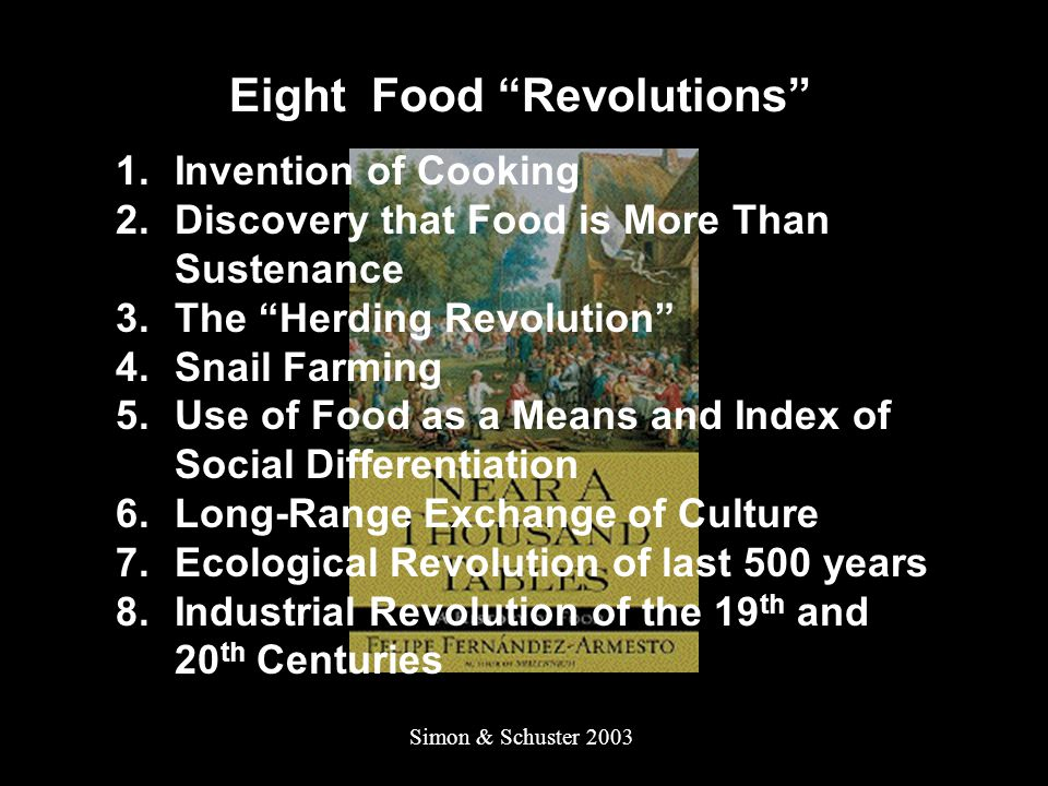 Eight Food Revolutions