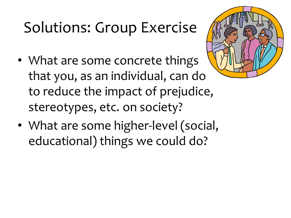 Solutions: Group Exercise