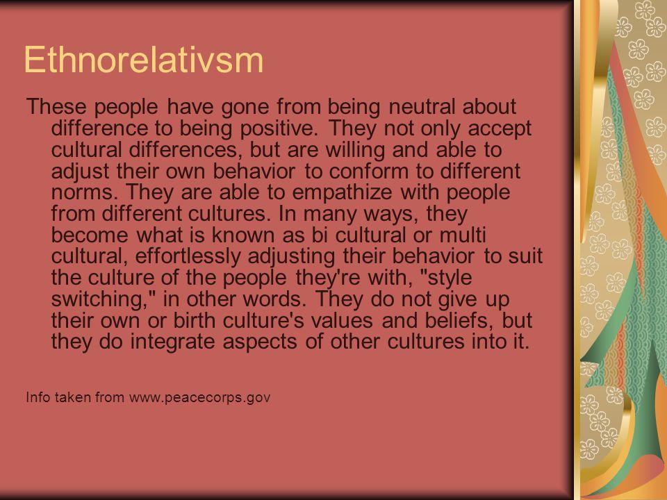 Ethnorelativsm